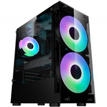 Gamecase Crystal 180 mm RGB Fanlı Oyuncu Kasası + 550w 80+ Psu - 8311