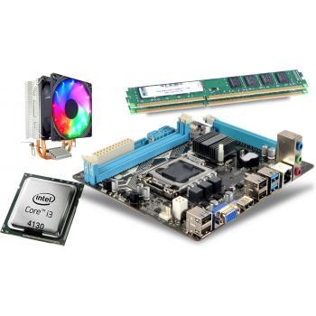 İ3 3,40GHz işlemci +Esonıc H81 Anakart + 8GB Ram + Snowman M200 Rainbow Fan