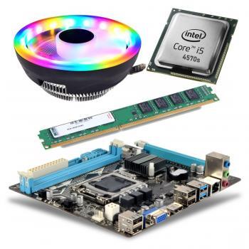 BD25 İ54570S işlemci +Esonic H81 Anakart + 8GB Ram + Snowman M105 Cpu