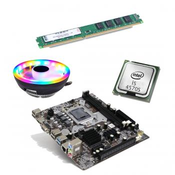 BD45 İ54570S işlemci +Turbox H81 Anakart + 4GB Ram + Snowman M105 Cpu
