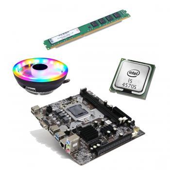 BD55 İ54570S işlemci +Turbox H81 Anakart + 8GB Ram + Snowman M105 Cpu