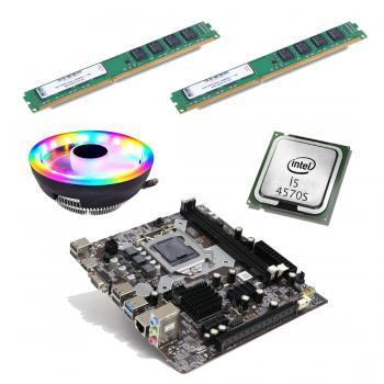 BD65 İ54570S işlemci +Turbox H81 Anakart + 16GB Ram + Snowman M105 Cpu