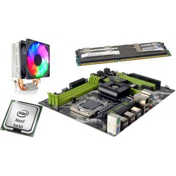 x5650 2.66GHz işlemci +Huananzhı x58 Anakart + 32GB Ram + Snowman M200 Rainbow