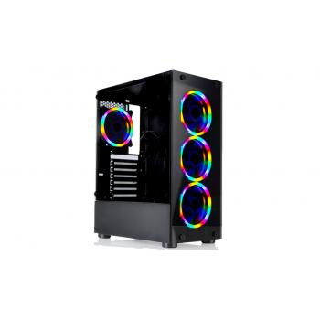 Gamecase Tropicano  6x120 mm Rainbow Fanlı Oyuncu Kasası - 8307