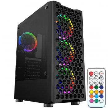 Gamecase Phantom 4x120 mm RGB Fanlı Oyuncu Kasası + 550w 80+ Psu - 8318