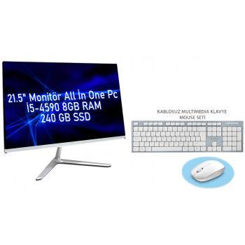 i5-4590 3.70 GHz 8gb Ram 240GB SSD 21.5