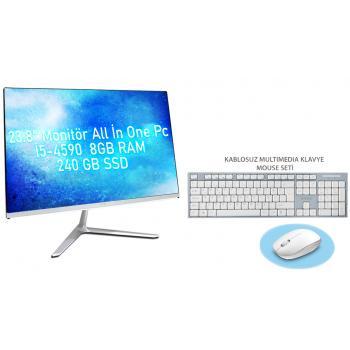 i5-4590 3.70 GHz 8gb Ram 240GB SSD 23.8