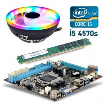 BD15 İ54570s işlemci +Esonic H81 Anakart + 4GB Ram + Snowman M105 Cpu