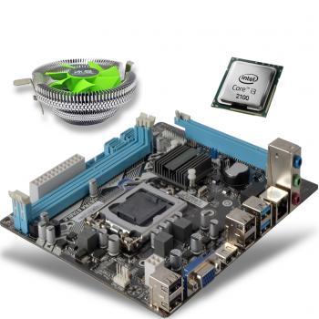 i3 2100 3.10GHz işlemci + Esonic H61 Anakart + M800 işlemci fanı