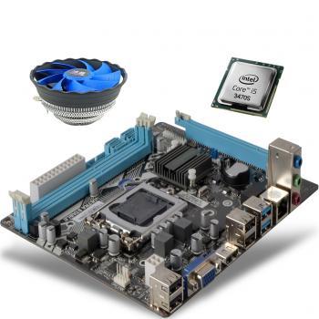 İ5 3470S 3.60GHz işlemci + Esonıc H61 Anakart + Snowman M120 Fan