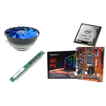 BD30 İ52500 işlemci + Esonic H61 Anakart + 4GB Ram + Snowman M120 Cpu