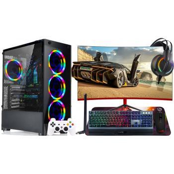 Ramtech GX50 İ39100F 240 1TB 16GB Ram GTX750Tİ/4 23.8 Gaming Pc