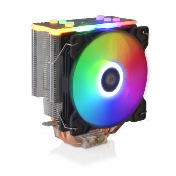 Snowman T4 CPU soğutucu Fan RGB Light Board