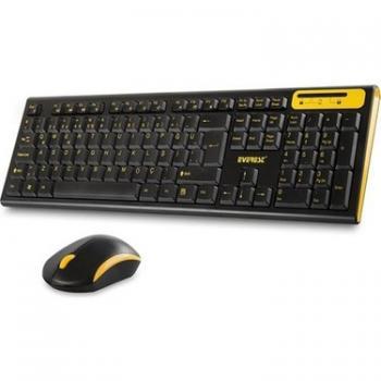 Everest Km - 5535 Usb Multi Media Kablosuz Q Standart Klavye + Mouse Set