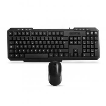 Everest Km-1435 Siyah Usb Oyuncu Q Multimedia Klavye Mouse Seti