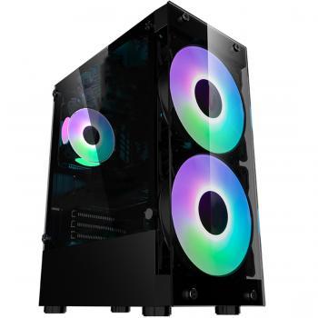 Gamecase Crystal 180 mm RGB Fanlı Oyuncu Kasası - 8311
