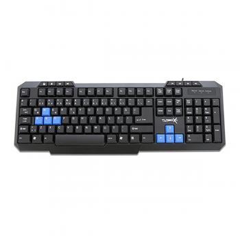 Turbox TR-X3 Mavi/Siyah Multimedia Oyuncu Klavyesi