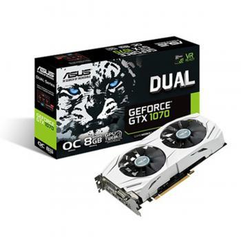 Asus GeForce GTX1070 Dual-Oc 8GB GDDR5 256Bit Dx12 Nvidia Ekran Kartı (2.El)