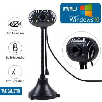 Ramtech 8mp Usb Web Cam