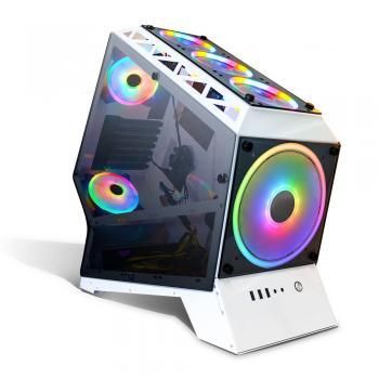 Dragos Eagle Eye 600W Beyaz Gaming Oyuncu Bilgisayar Kasası Fan Hariç