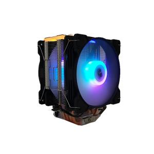 Snowman T4 CPU soğutucu Fan RGB Light Board Çift Fan