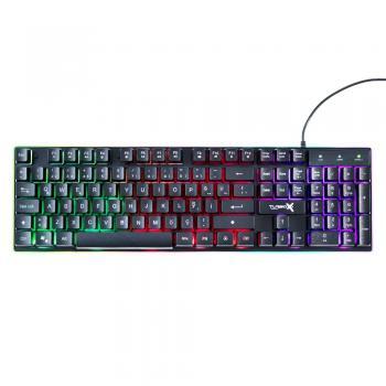 Turbox MaxValue RB-105K USB Kablolu Rainbow Gaming Standart Q Rainbow Aydınlatma Klavye