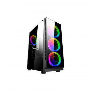 Gametech Zeus Powersız Oyuncu Kasası RGB Kumandalı