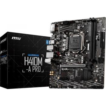 Msi H410m-a Pro Sata m2 DDR4 2933 Mhz usb 3.2 wga hmd-i ses G. Lan 1200 10. Gen Anakart