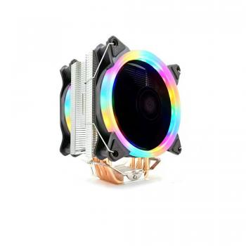 Snowman T6 CPU Soğutucu Fan Rainbow