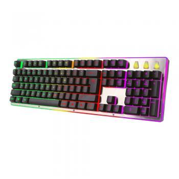 Turbox GunPike TR-K5 USB Kablolu Gaming Standart Q Işıklı Metal Kasa Klavye