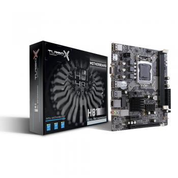 Turbox H81 Intel H81 1600 MHz DDR3 Soket 1150 Micro-ATX  Anakart
